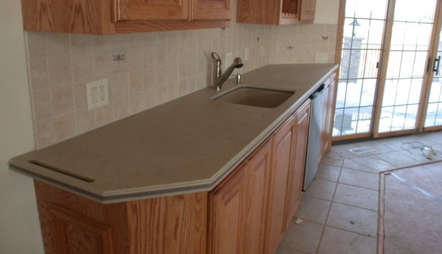 Corian like solid surface kitchen counter tops quarrystone150 Solid surface counters
