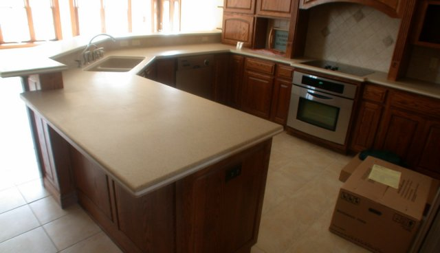 Surface Kitchen : solid surface kitchen counter top Quarrystone 1963