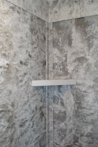 Solid Surface Shower Wall Panels