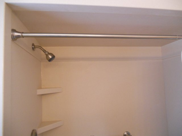 Solid Surface Shower Wall Panels And Shelves