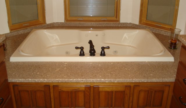 solid surface tub deck - 28 images - doityourself community forums ...