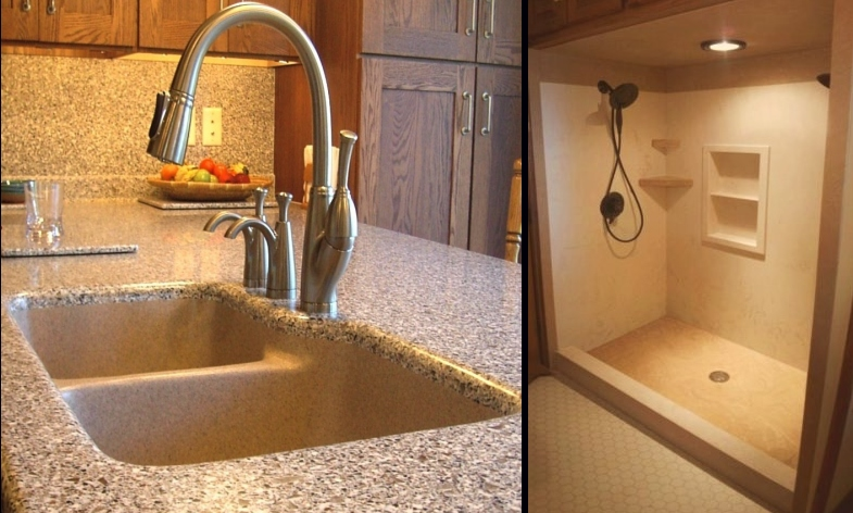 Quarrystone Solid Surface for the Kitchen, Bath & More